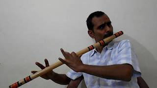 Balam Gaile Jhariya || Bhojpuri Song on Bamboo Flute ||