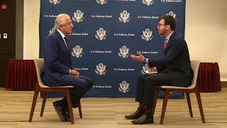 Interview with US envoy for Afghanistan reconciliation Zalmay Khalilzad on peace talks