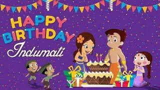 Chhota Bheem - Rajkumari Indumati ka Janamdin | Happy Birthday Indumati