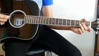 Jeena Jeena | Badlapur | Atif aslam | Guitar tab lesson | Preet Parikh