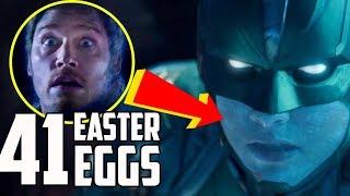 Captain Marvel: Trailer Breakdown and Easter Eggs