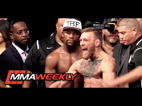 Xxx Mp4 Floyd Mayweather Vs Conor McGregor Weigh In And Face Off 3gp Sex