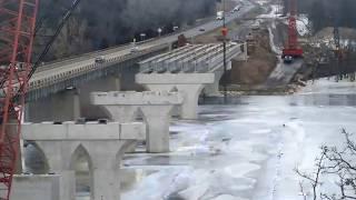 MnDOT | Hwy 24 Clearwater Bridge Time-lapse
