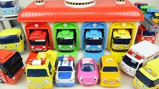 Tayo(타요) Tayo the little bus and Friends car toys 꼬마버스 타요 친구들 тайо Игрушки