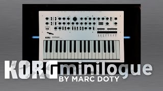 The Korg Minilogue-08-The CLICKING part 2