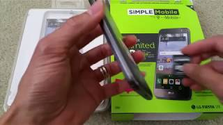 LG Fiesta LTE In Depth Full Review Simple Mobile Tracfone Walmart  Smartphone Wireless Full HD 2017