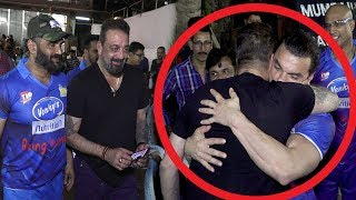 Sanjay Dutt Breaks Down & HUGS Salman Khan