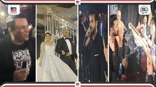 تامر حسني ومحمد فؤاد وسامو زين ونجوم ستار اكاديمي يشعلون حفل زفاف شيرين يحيي