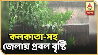 কলকাতা-সহ দক্ষিণবঙ্গে প্রবল বৃষ্টি | ABP Ananda