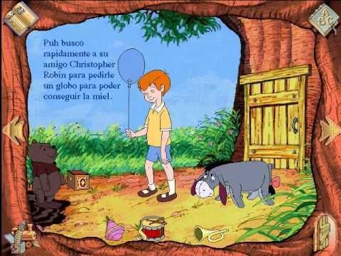 Libro Animado Interactivo Winnie Pooh Español Parte 2