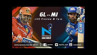 Live IPL 2017 : The Gujarat Lions vs Mumbai Indians cricket match preview on Cric Gully