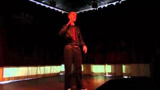 Deaf/Def Poetry Jam, Ash Hrim poet, Max Orr interpreter, Eddie Swayze and Dee Herrera interpreter
