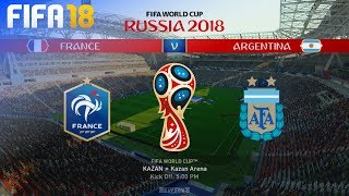 FIFA 18 World Cup - France vs. Argentina @ Kazan Arena