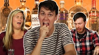 Cheap Vs. Expensive Vodka Taste Test