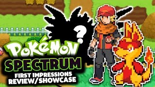 Pokémon Spectrum - Pokemon Fan Game Review/Showcase