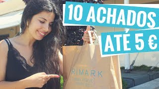 PRIMARK: 10 Achados Até 5 EUROS + Sorteio Instagram I A Miúda Tem Lata