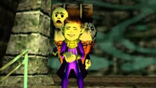 Zelda MM I Teoría Vendedor de Máscaras Felices I SARIA BOSQUE PERDIDO
