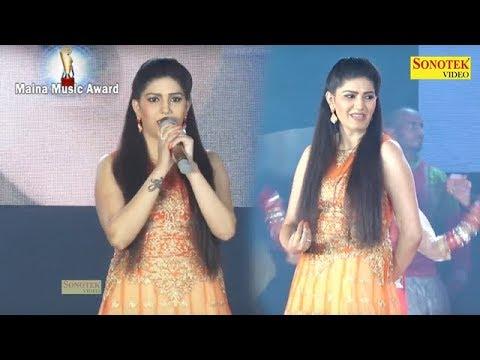 Xxx Mp4 Sapna Dance Tu Chij Lajawab Live Dance Maina Music Award 2017 Haryanvi Song 2017 3gp Sex