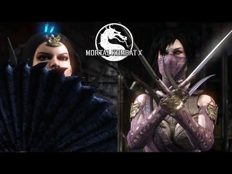 Kitana vs. Mileena - Sexy Mortal Kombat X Fight
