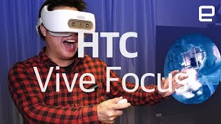 HTC Vive Focus hands-on