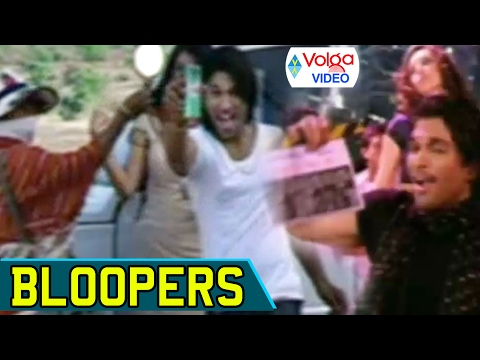 Arya 2 Movie Bloopers | Allu Arjun, Kajal Aggarwal | Volga Videos | 2017