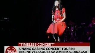 24 Oras: Unang gabi ng concert tour ni Regine Velasquez sa Amerika, dinagsa