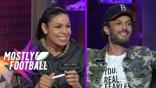 Jordin Sparks & Comedian Josh Wolf Stop By The Best Anti-Pregame Pregame Show | Mostly Football
