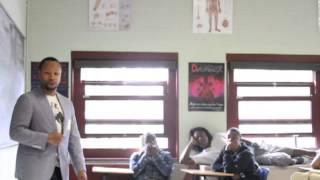 Orane Williams at Shabazz High School
