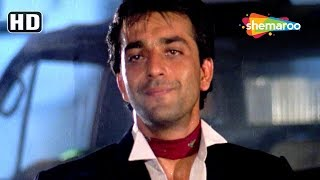 Sanju Baba urf Sanjay Dutt scenes from Tejaa (HD) Kimi Katkar - Amrish Puri - Hit Action Movie