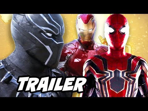 Xxx Mp4 Black Panther Trailer And Avengers Infinity War Breakdown 3gp Sex