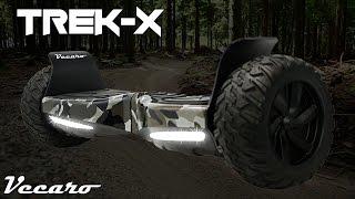 Trek-X: Off-Road All Terrain Hoverboard w/ Bluetooth, Auto-Balance & Ride Control Mobile App -Vecaro