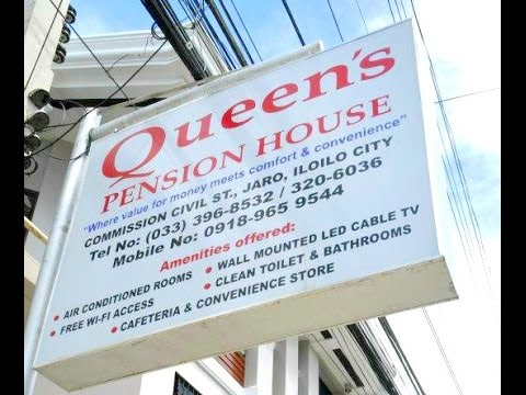 The Queens Pension House in Iloilo -  Nice budget place to stay.