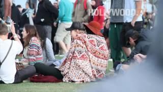 Vanessa Hudgens Kisses Austin Butler at Coachella!