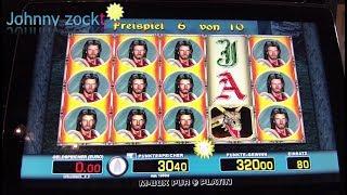 Dragons Treasure, Magic Mirror 4€ Freispiele, BoR 4 Forscher, Spielbank BoR 2€ (alte Automaten)