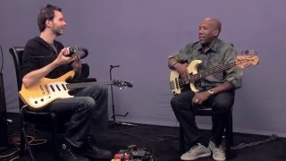 Nathan East & Paul Gilbert - Blues Jam in Key of A