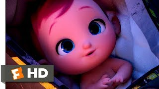 Storks (2016) - Putting The Baby To Sleep Scene (6/10) | Movieclips
