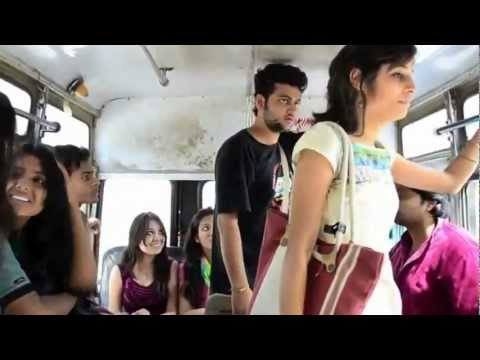 What Girls and boys Doing in bus A journey to remember HD YouTube