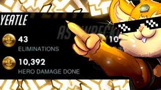 Grandmaster Hammond Gameplay - Yeatle! #1 Hammond [ OVERWATCH SEASON 14 TOP 500 ]