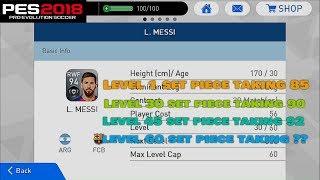 Wonderful Lionel Messi Stats Lvl 1 vs 30 vs 45 vs 60