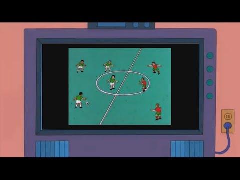 Bolivia Peru 3 1 Copa America 2015 en LOS SIMPSONS