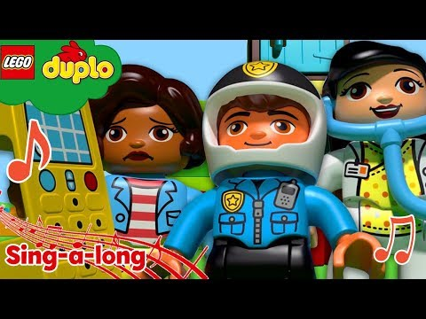 Learn with LEGO DUPLO Hometown Heroes ABCs and 123s Nursery Rhymes & Kids Songs LEGO Videos