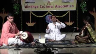 Rahul Narayan - Vocal, Sriral Satagopan - Mridangam, Savita Viswanthan - Violin - Part-1