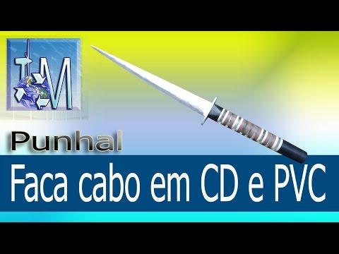 Faca cabo em CD e PVC