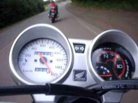 Titan 150 acima de 160 km h Igor Pistão 190 CC