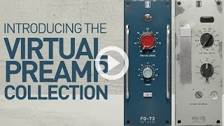 Slate Digital VIRTUAL PREAMP COLLECTION - Real Analog Preamp Tone For Your Mixes