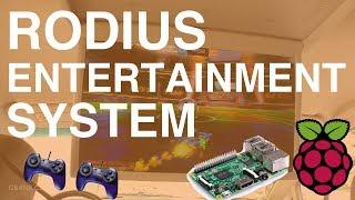 😃Long trajet en voiture divertissant 🕹 Rodius Entertainment System 🎞