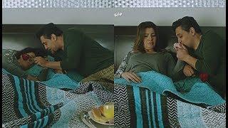 """ذات مومنت لما جوزك يقلب فجأة ويبقى رومانسي """" فطار لحد السرير وورد ! 😲 """" #أبو_العروسة"""
