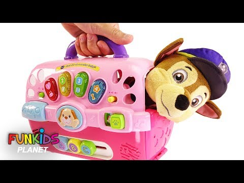 Xxx Mp4 Learn Color Videos For Kids Paw Patrol Skye And Chase Dog Carriers Playset 3gp Sex