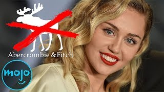 Top 10 Celebrity Boycotts of All Time