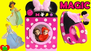 Minnie Mouse Magical Washing Machine and Disney Princess Surprises